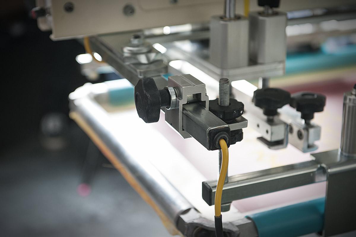 Roller Frames im Siebdruck