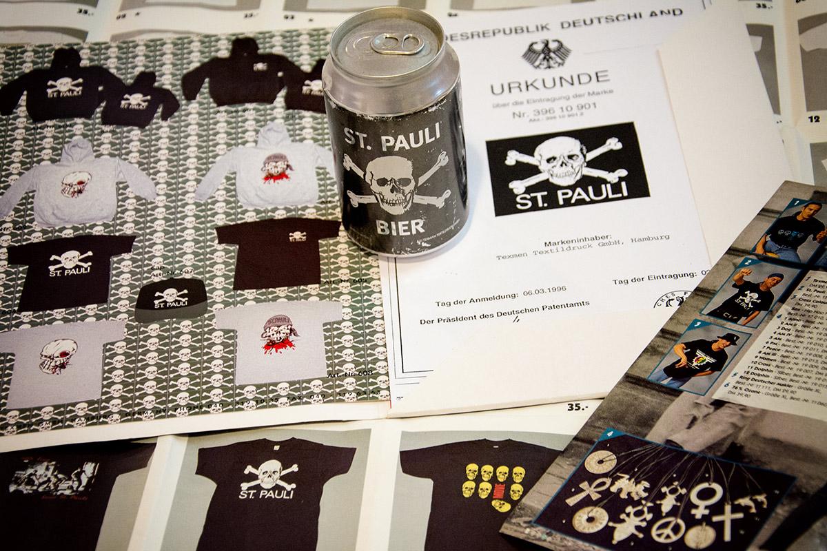 Marke St. Pauli Totenkopf