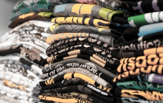 T-Shirt Musterregal Texmen