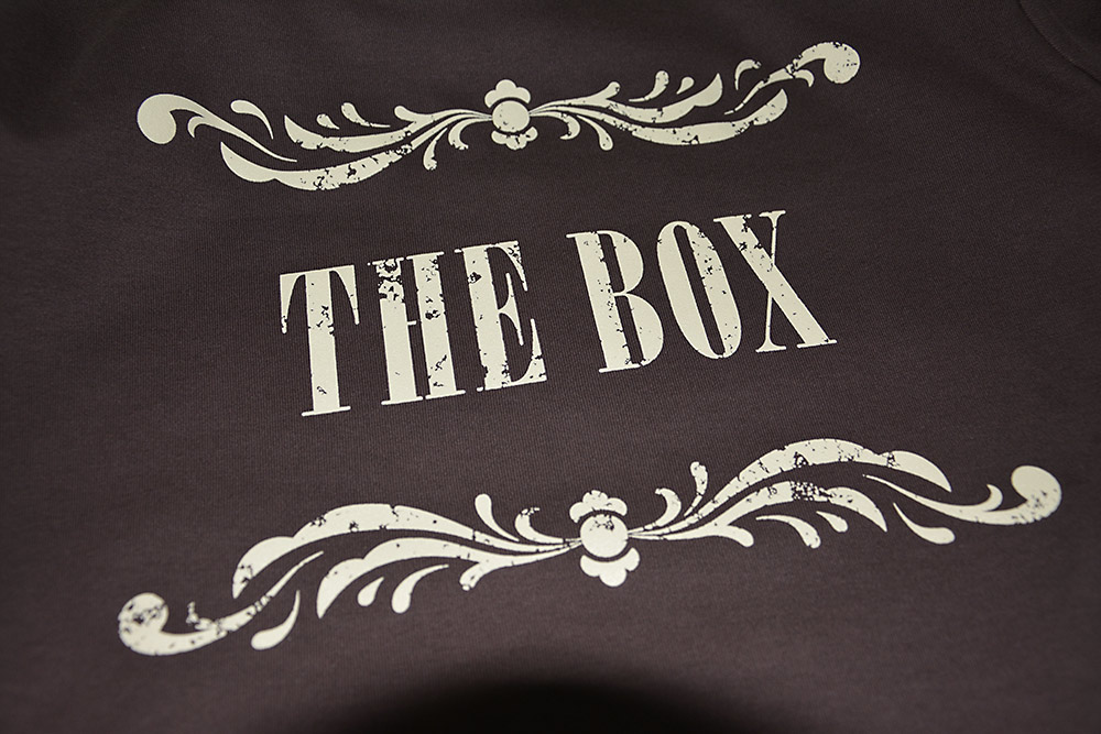 T-Shirt für The Box.
