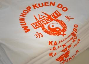 T-Shirt Produktion Dacascos