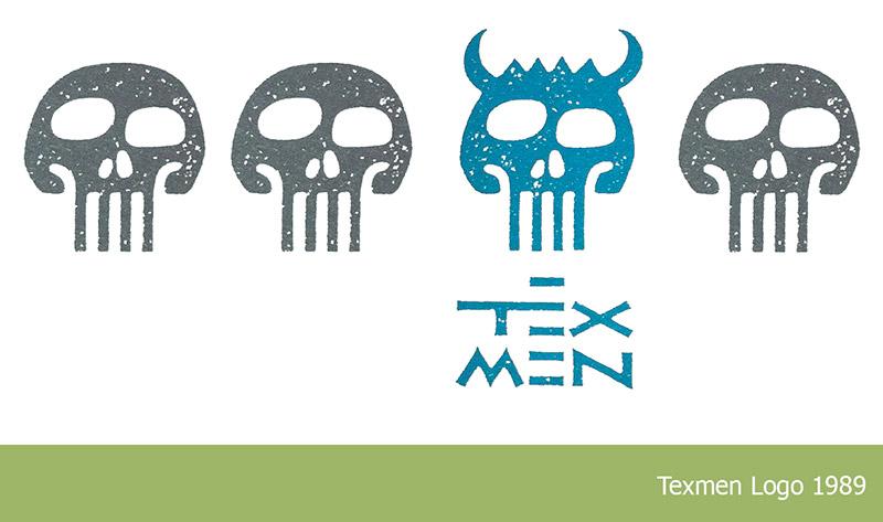 Texmen Geschichte Logo 1989