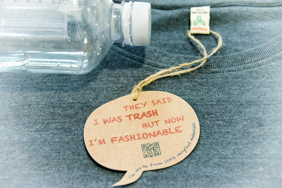 Pet Flasche T-Shirt