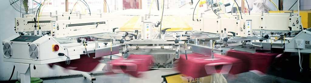 Texmen Textildruck Hamburg Siebdruckmaschine