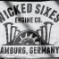 Metzgerwerk T-Shirt 'Wicked Sixes'