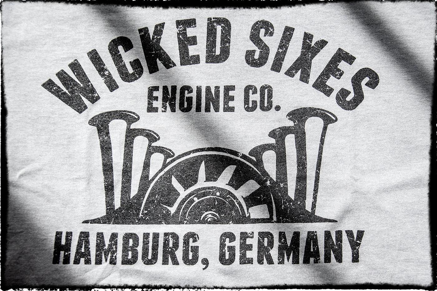 Metzgerwerk T-Shirt 'Wicked Sixes'