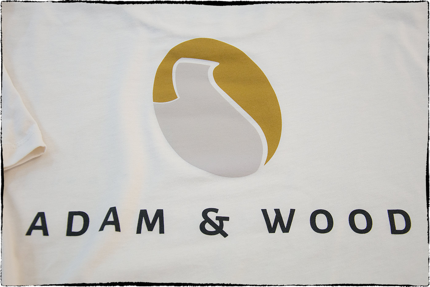 adam and wood t-shirt