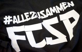 #ALLEZUSAMMEN FCSP T-Shirts zum Saisonfinale