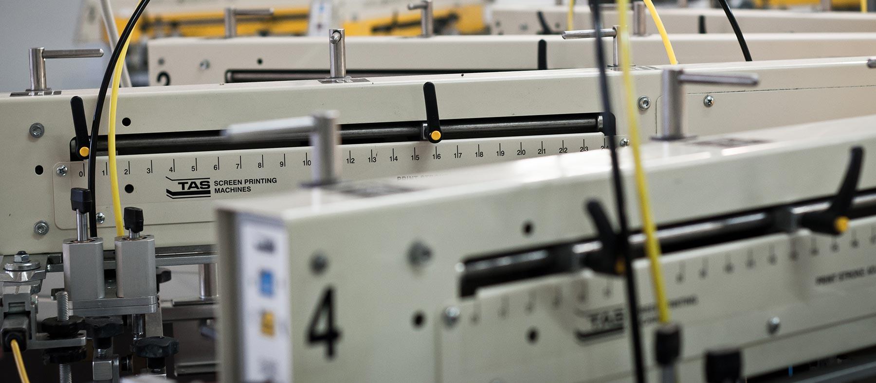 Texmen Textildruckmaschine für Siebdruck